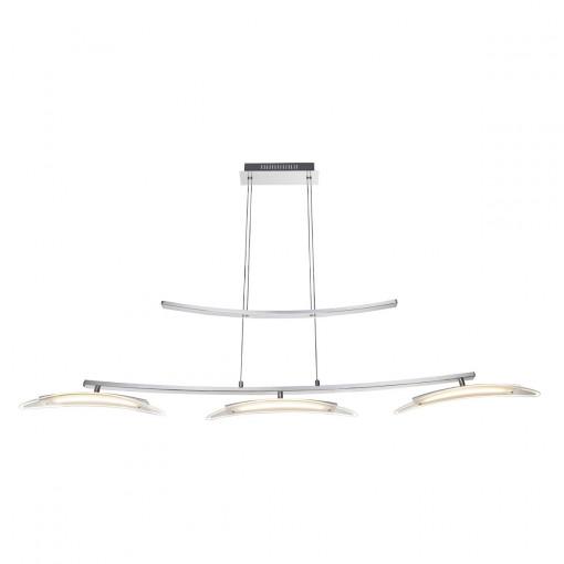 Светильник подвесной, арт. 67102-3H, LED, 3x9W, хром