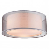 Светильник потолочный, арт. 15190D, E14, 3x40W, прозрачный