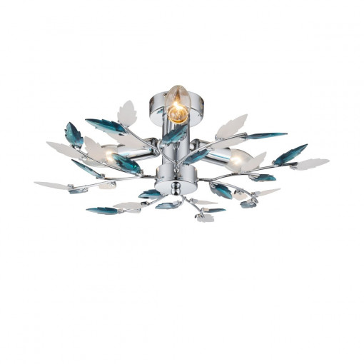 Светильник потолочный, арт. 63103-3, E14, 3x40W, хром