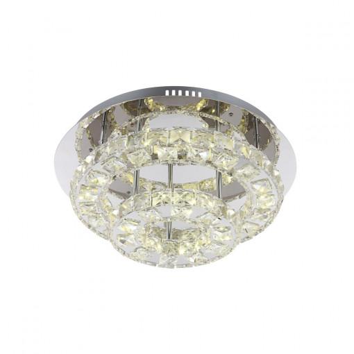 Светильник потолочный, арт. 67049-27, LED, 1x27W, хром