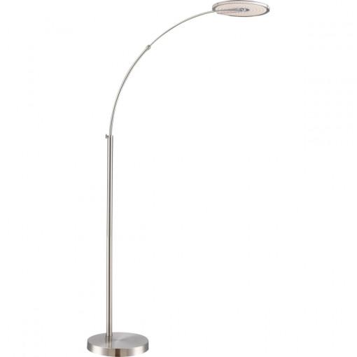 Торшер, арт. 59037, LED, 1x18W, матовый никель