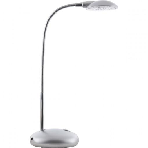 Настольная лампа, арт. 58370, LED, 12x0,6W, матовый никель