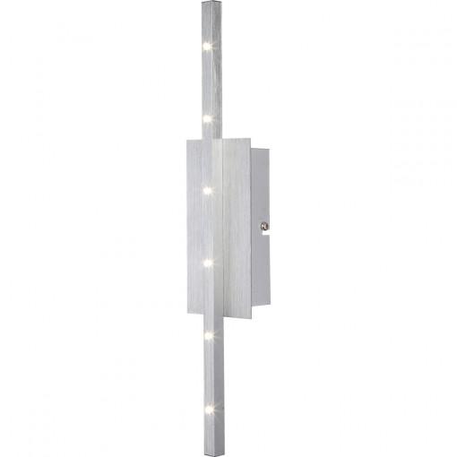 Светильник настенный, арт. 67050-6W, LED, 6x1W, серебро