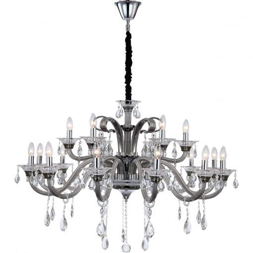 Светильник подвесной, арт. 64104-18, E14, 18x40W, хром