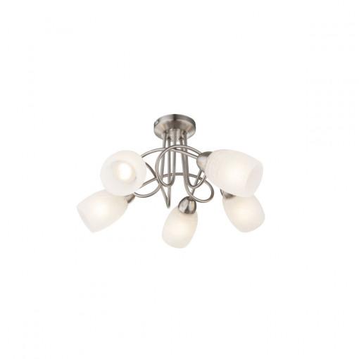 Светильник потолочный, арт. 63170-5, E14, 5x40W, хром