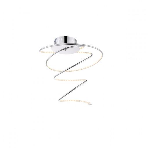 Светильник потолочный, арт. 67814D, LED, 1x19W, хром