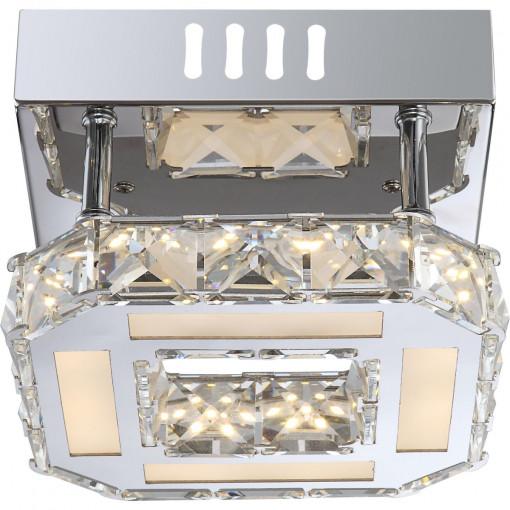 Светильник потолочный, арт. 67051-8D, LED, 1x8W, хром