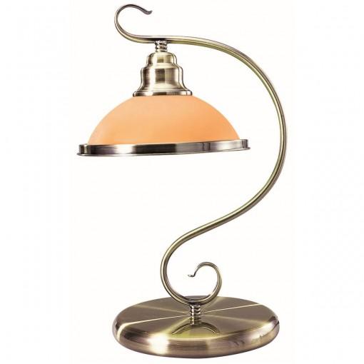 Настольная лампа, арт. 6905-1T, E27, 1x60W, античная бронза