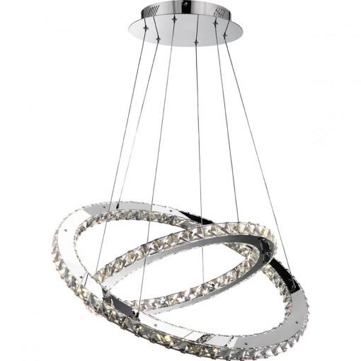 Светильник подвесной, арт. 67032-60, LED, 1x60W, хром