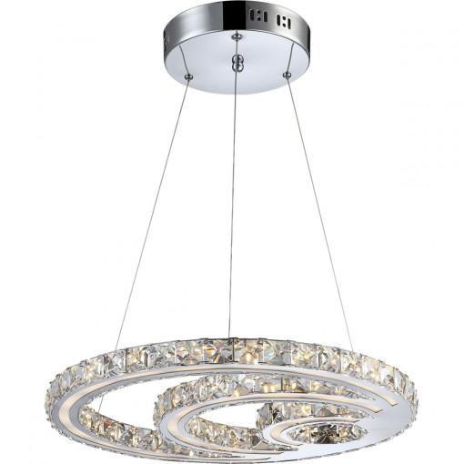 Светильник подвесной, арт. 67052-30, LED, 1x30W, хром