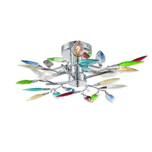 Светильник потолочный, арт. 63173-3, E14, 3x40W, хром