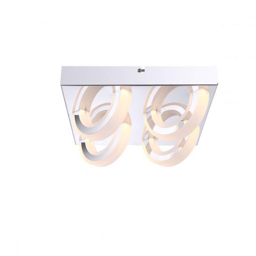 Светильник потолочный, арт. 67062-4D, LED, 4x5W, хром