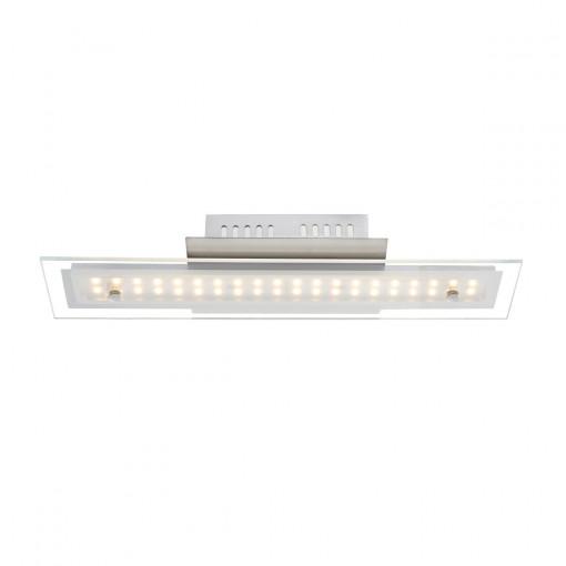 Светильник потолочный, арт. 67804-8D, LED, 1x8W, матовый никель