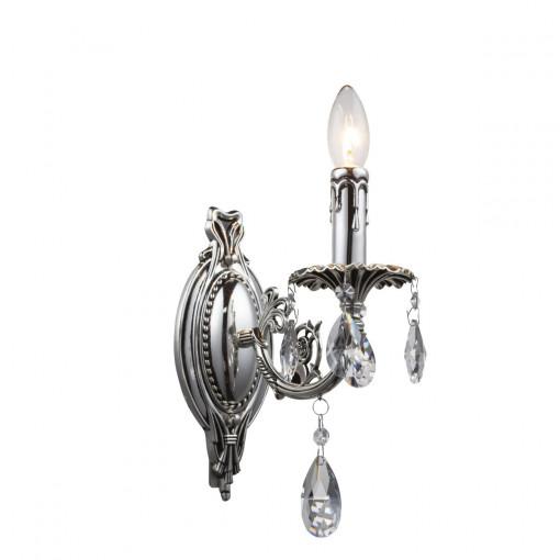 Светильник настенный, арт. 64117-1W, E14, 1x40W, хром