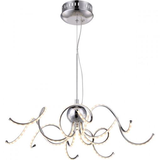 Светильник подвесной, арт. 67814H, LED, 1x26W, хром