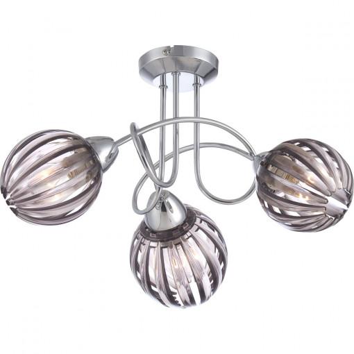 Светильник потолочный, арт. 63176-3, E14, 3x40W, хром