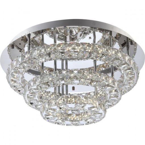 Светильник потолочный, арт. 67047-44R, LED, 1x44W, хром