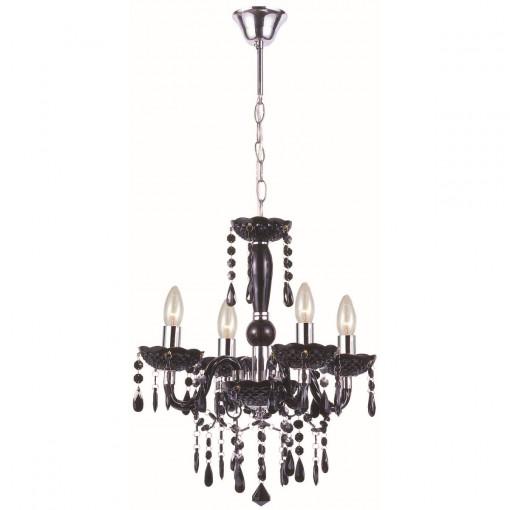 Светильник подвесной, арт. 63110-4, E14, 4x40W, черный