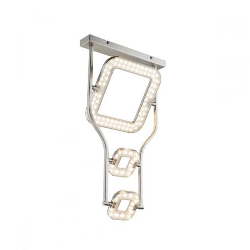 Светильник потолочный, арт. 59050D, LED, 1x18W, матовый никель