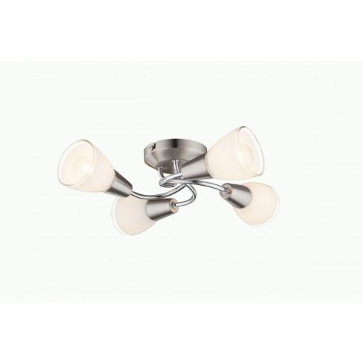 Светильник потолочный, арт. 60191-4, E14, 4x40W, матовый никель