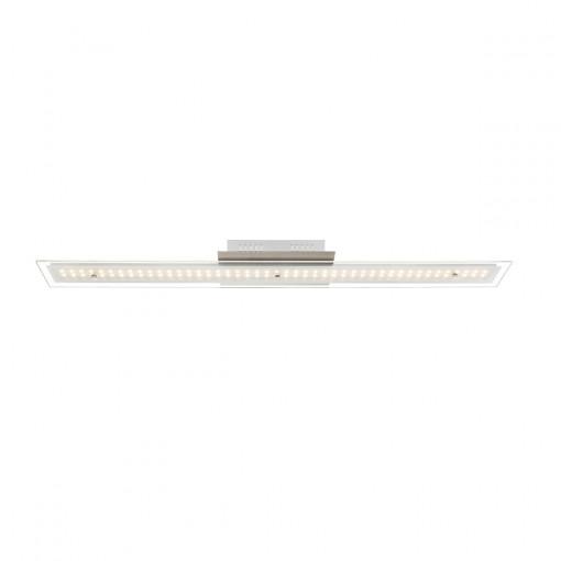 Светильник потолочный, арт. 67804-18D, LED, 1x18W, матовый никель