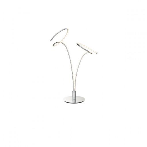 Настольная лампа, арт. 67814T, LED, 1x10W, хром