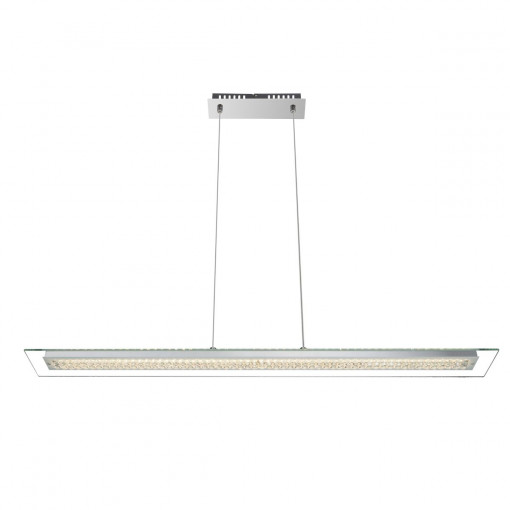 Светильник подвесной, арт. 67082-18, LED, 1x18W, хром