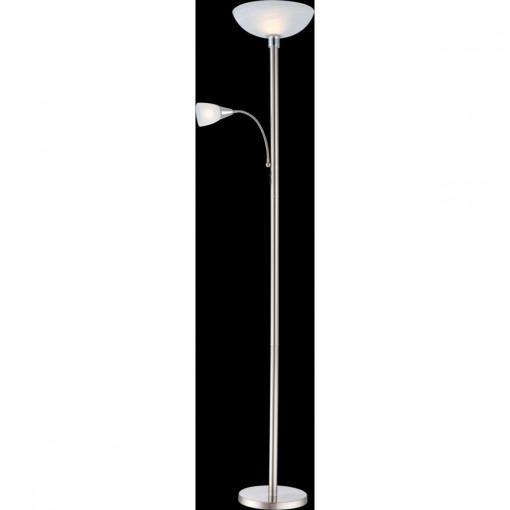 Торшер, арт. 58931, E14, 1x40W, матовый никель