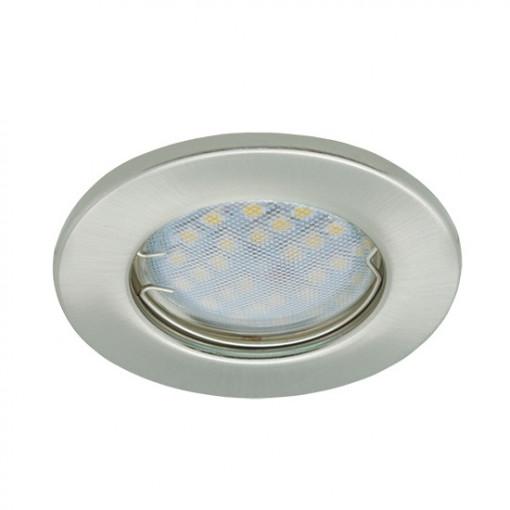 Ecola Light MR16 DL90 GU5.3 Светильник встр. плоский Хром 30x80 - 2pack