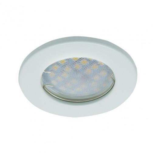 Ecola Light MR16 DL90 GU5.3 Светильник встр. плоский Перламутровое серебро 30x80 - 2pack