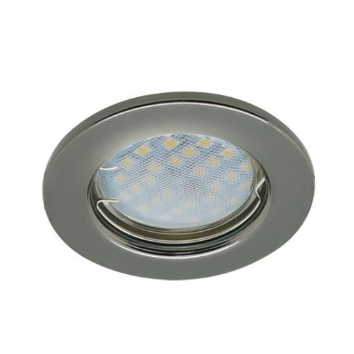 Ecola Light MR16 DL90 GU5.3 Светильник встр. плоский Сатин-Хром 30x80 - 2pack