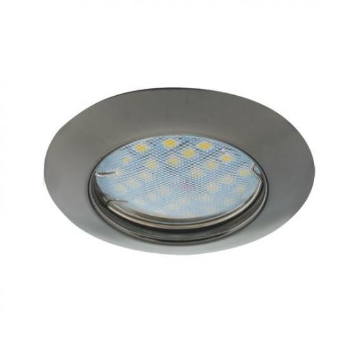 Ecola Light MR16 DL92 GU5.3 Светильник встр. выпуклый Черный Хром 30x80 - 2pack