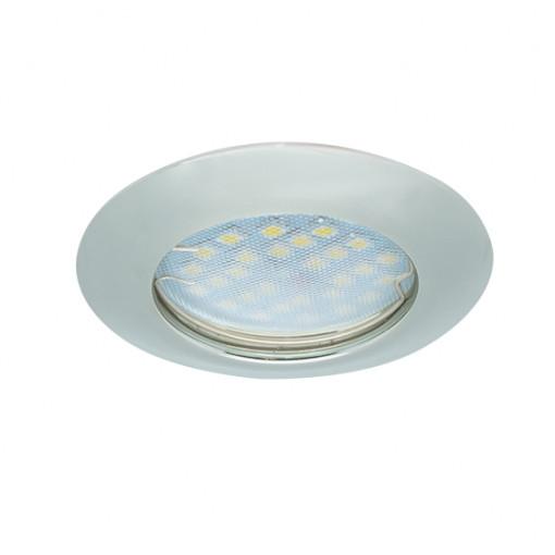 Ecola Light MR16 DL92 GU5.3 Светильник встр. выпуклый Перламутровое серебро 30x80 - 2pack