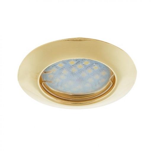 Ecola Light MR16 DL92 GU5.3 Светильник встр. выпуклый Перламутровое золото 30x80 - 2pack