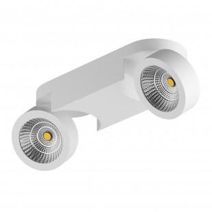 055264 Светильник SNODO LED 2*10W 1960LM 23G БЕЛЫЙ 4000K IP20 (в комплекте)