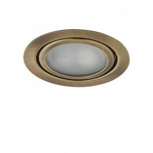 003201 Светильник MOBI INC G4 БРОНЗА ЗЕЛЕНАЯ/МАТОВЫЙ (в комплекте)