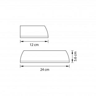762653*** (MВ1200801-1А) Бра RETRO 5W LED ЯНТАРЬ (в комплекте)