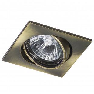 011941 Светильник LEGA16 QUA MR16/HP16 ЗЕЛЕНАЯ БРОНЗА (в комплекте)