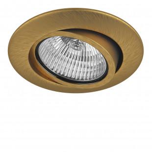 011083 Светильник TESO ADJ MR16/HP16 ЛАТУНЬ (в комплекте)
