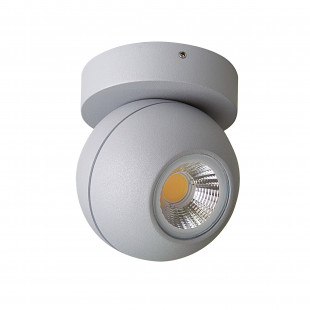 051009*** Светильник GLOBO LED 8W 40G СЕРЫЙ 3000K IP65 (в комплекте)