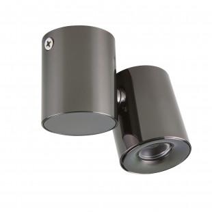 051137 Светильник PUNTO LED 3W 190LM 20G ЧЕРНЫЙ ХРОМ 3000K IP40 (в комплекте)