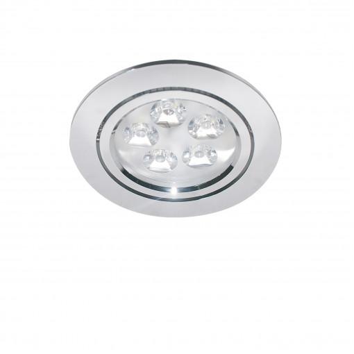 070054*** Светильник ACUTO LED 5W 450LM ХРОМ 4000K (в комплекте)