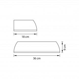 762673*** (MВ1200801-3А) Бра RETRO 7W LED ЯНТАРЬ (в комплекте)