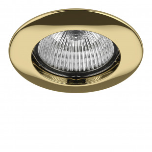 011072 Светильник TESO FIX MR16/HP16 ЗОЛОТО (в комплекте)