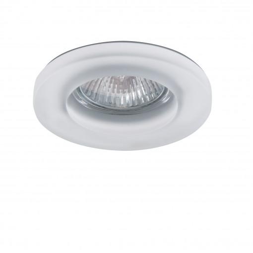 002240 (GM870) Светильник ANELLO OP MR16/HP16 ХРОМ/БЕЛЫЙ (в комплекте)