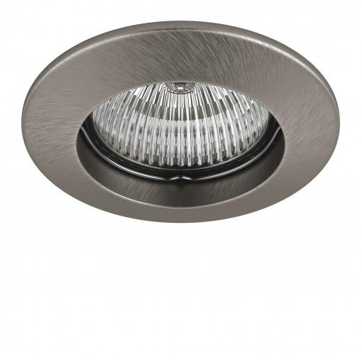 011045 Светильник LEGA 11 FIX MR11/HP11 НИКЕЛЬ (в комплекте)