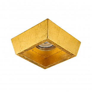 041022*** Светильник EXTRA QUA ORO MR16/HP16 ЗОЛОТО (в комплекте)