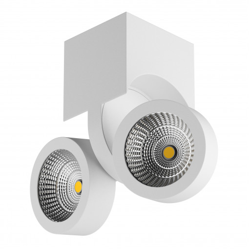 055364 Светильник SNODO LED 2*10W 1960LM 23G БЕЛЫЙ 4000K IP20 (в комплекте)