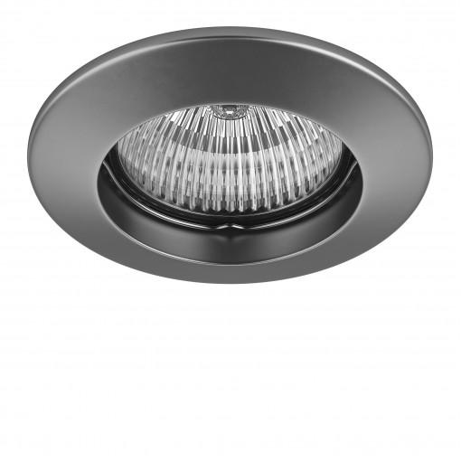 011049 Светильник LEGA 11 FIX MR11/HP11 ХРОМ МАТОВЫЙ (в комплекте)