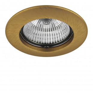 011073 Светильник TESO FIX MR16/HP16 ЛАТУНЬ (в комплекте)
